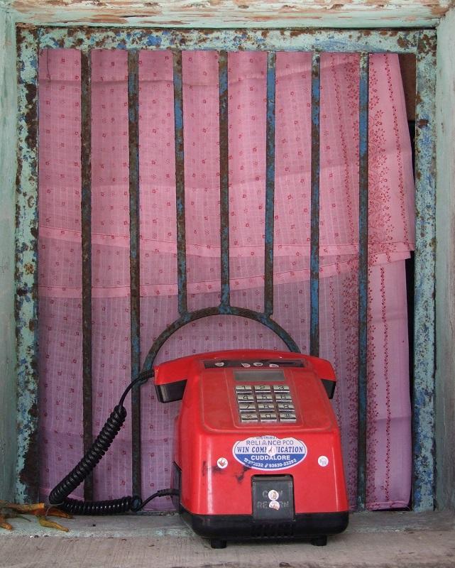 Annappanpettai telefono pubblico