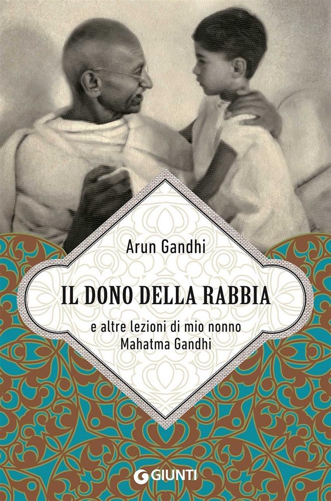 Foto Mahatma con Arun Gandhi