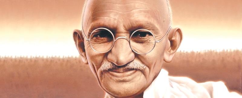 Mahatma Gandhi sepia small 2